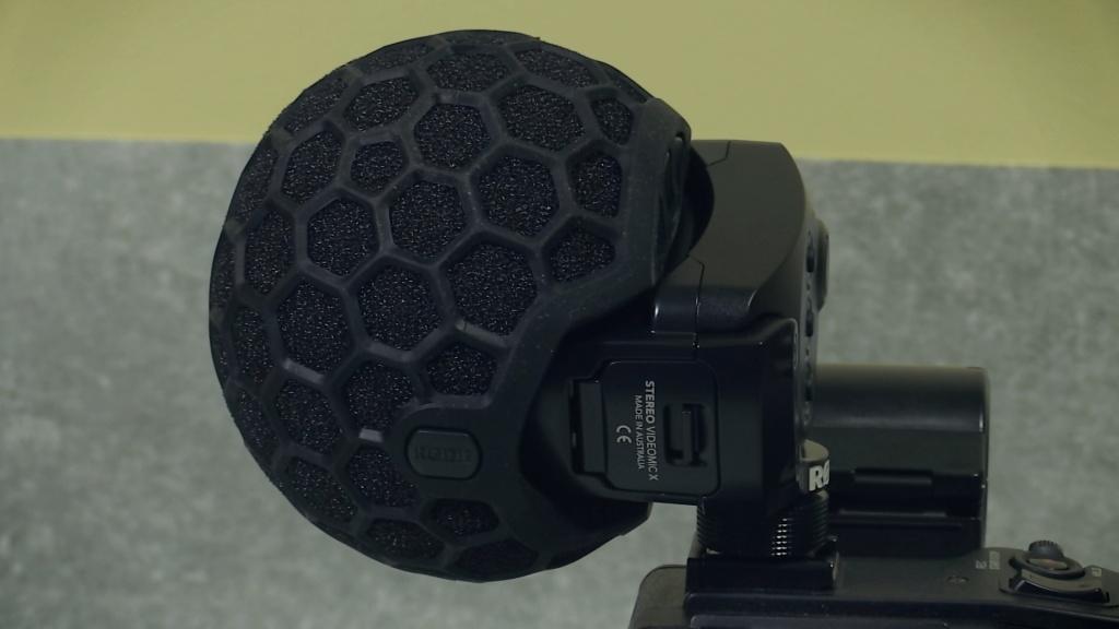 Rode SVMX on camcorder