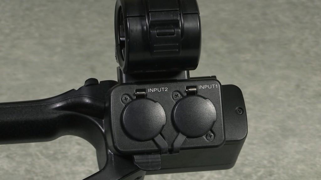 Sony PXW-X70 XLR inputs