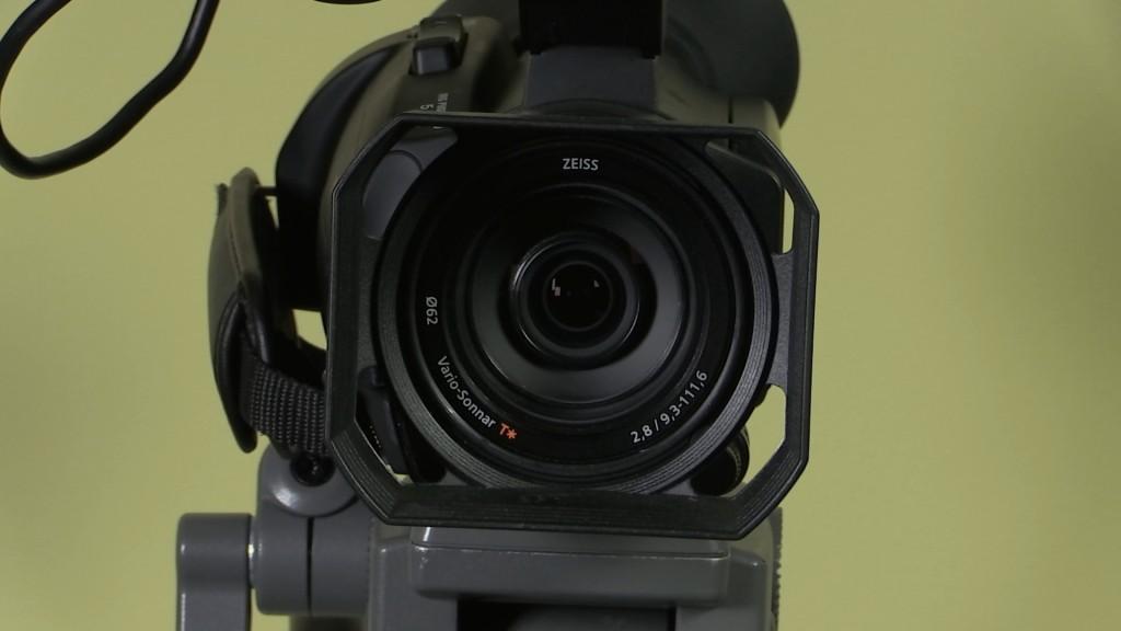 Sony PXW-X70 lens