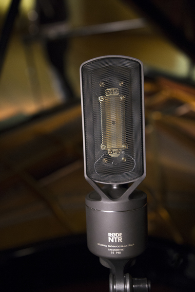 Rode NTR microphone close up