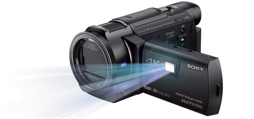 Sony FDR-AX33 projector