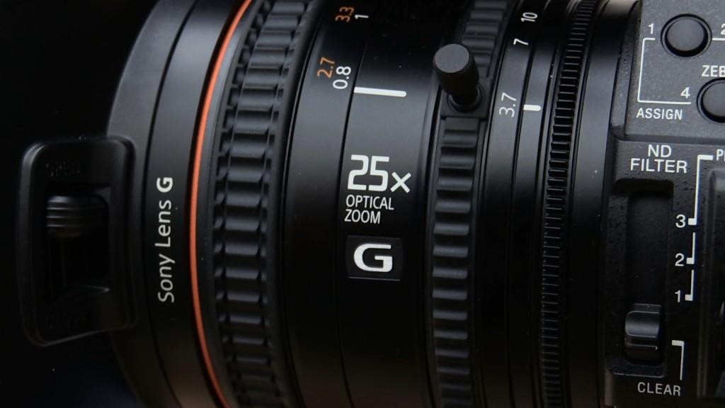 Sony PXW-X180 lens