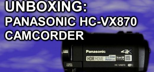 Panasonic HC-VX870 thumbnail