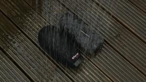 Pseudo rain on the Rycote Softies