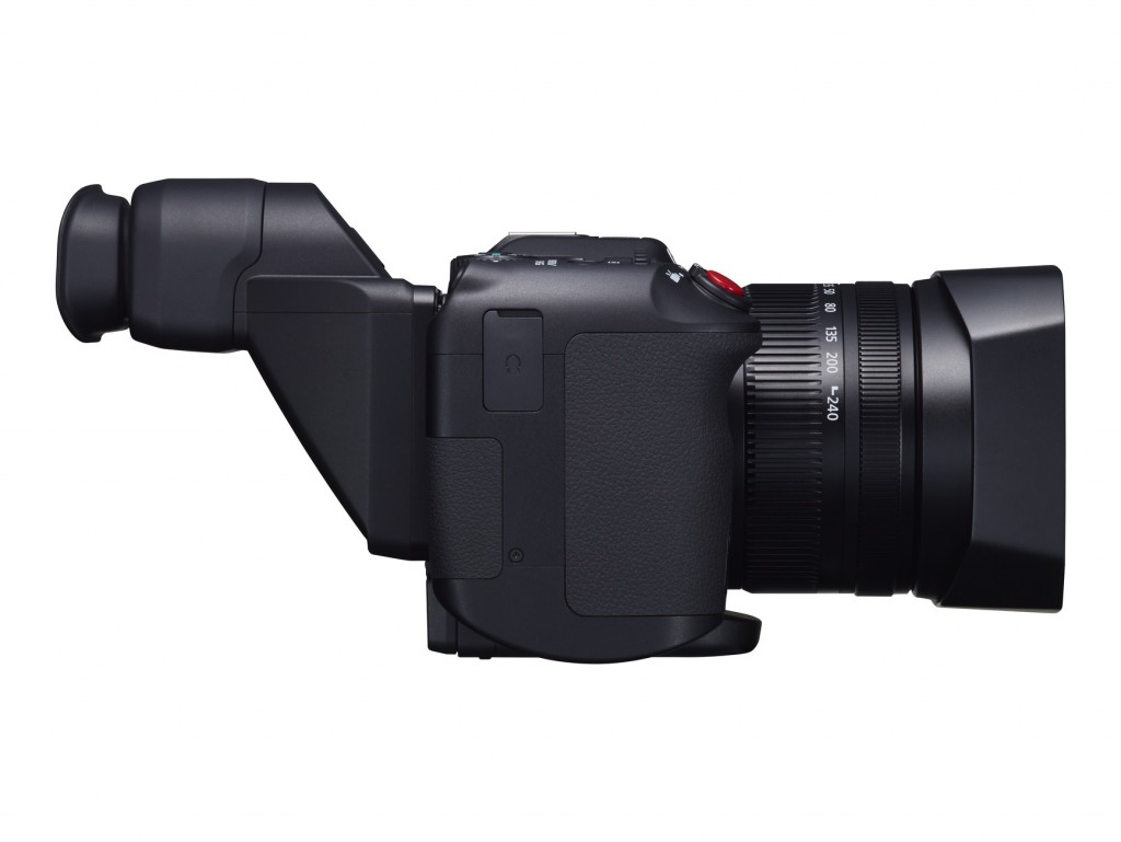Canon XC10 right view