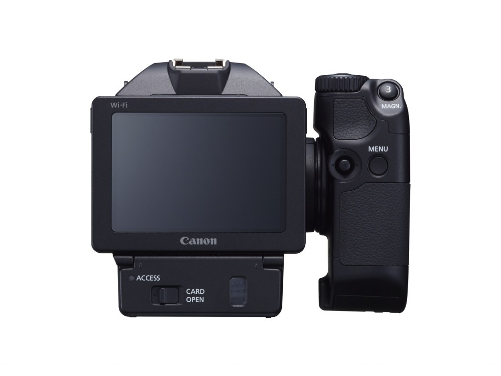 Canon XC10 LCD screen
