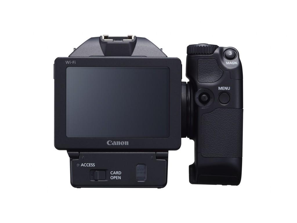 Canon XC10 LCD screen