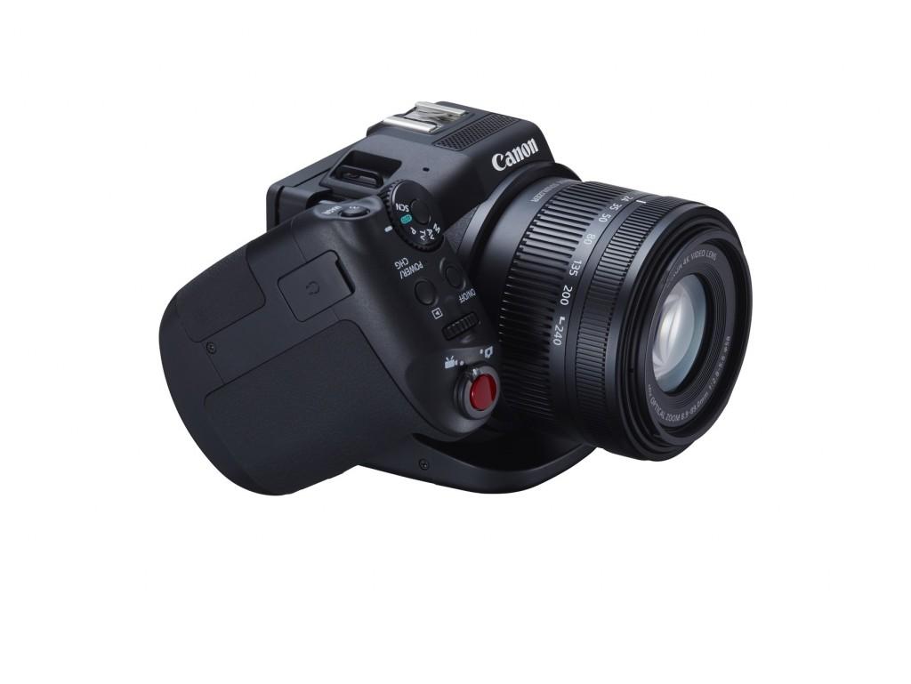 Canon XC10 rotatable handgrip
