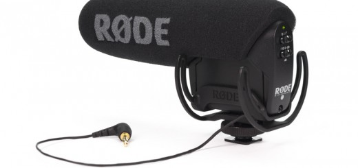 Rode VideoMic Pro - Rycote from the back