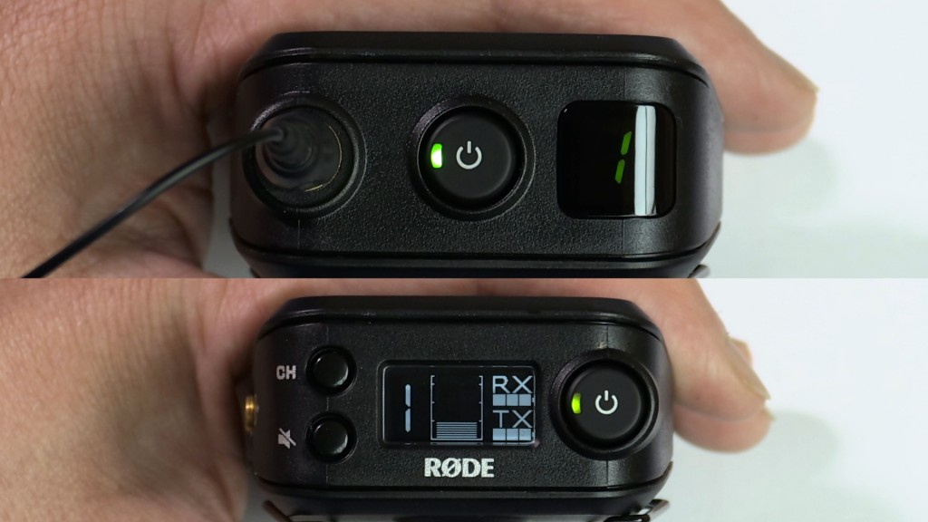 Rodelink Rx and Tx units synchronised