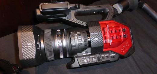 Panasonic DVX200 side view