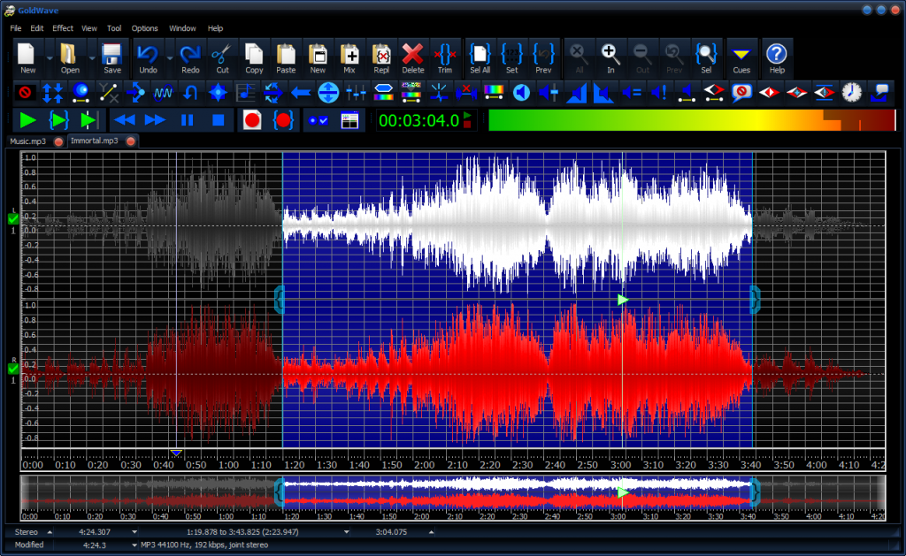 Goldwave Audio Editor