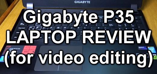 Gigabyte laptop review thumbnail