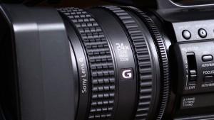 Sony NX100 lens