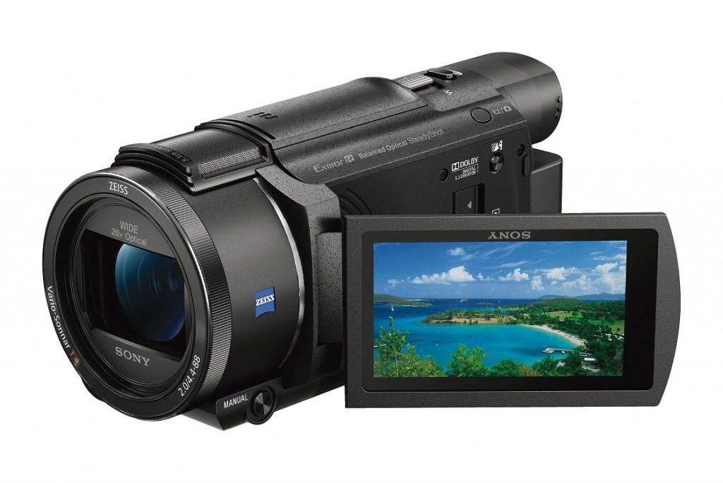 Sony AX53 camcorder