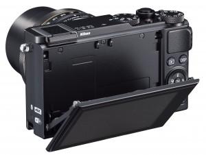 Nikon DL18-50 screen flipped open