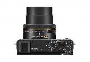 Nikon DL18-50 top view