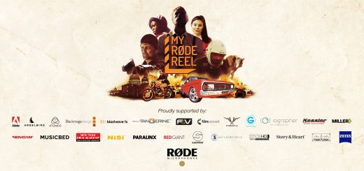 My Rode Reel 2016 graphic