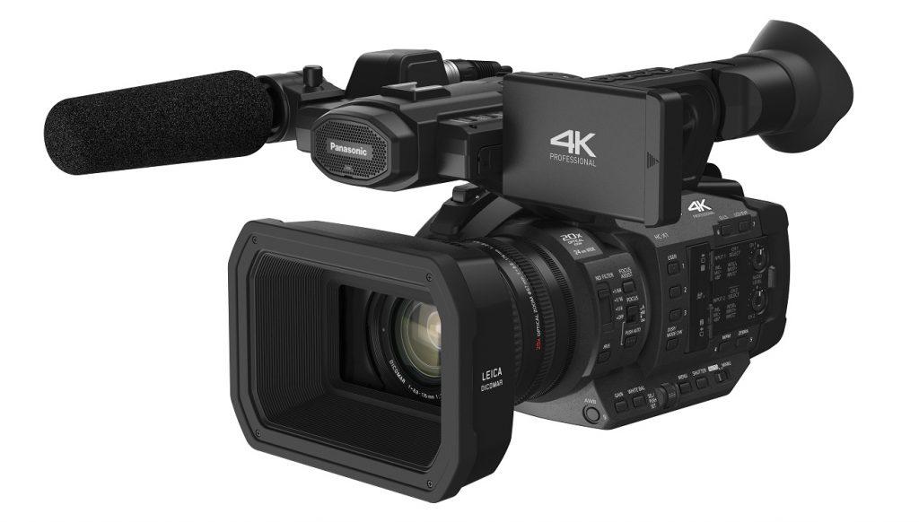 Panasonic X1 4K camcorder