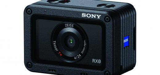 Sony RX0 front view