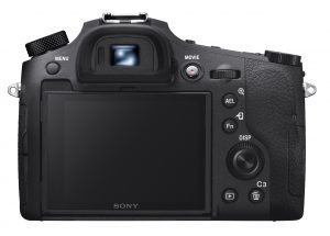 Sony RX10 IV (rear view)