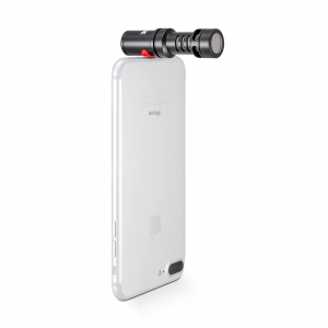 Rode Videomic Me-L on an iphone