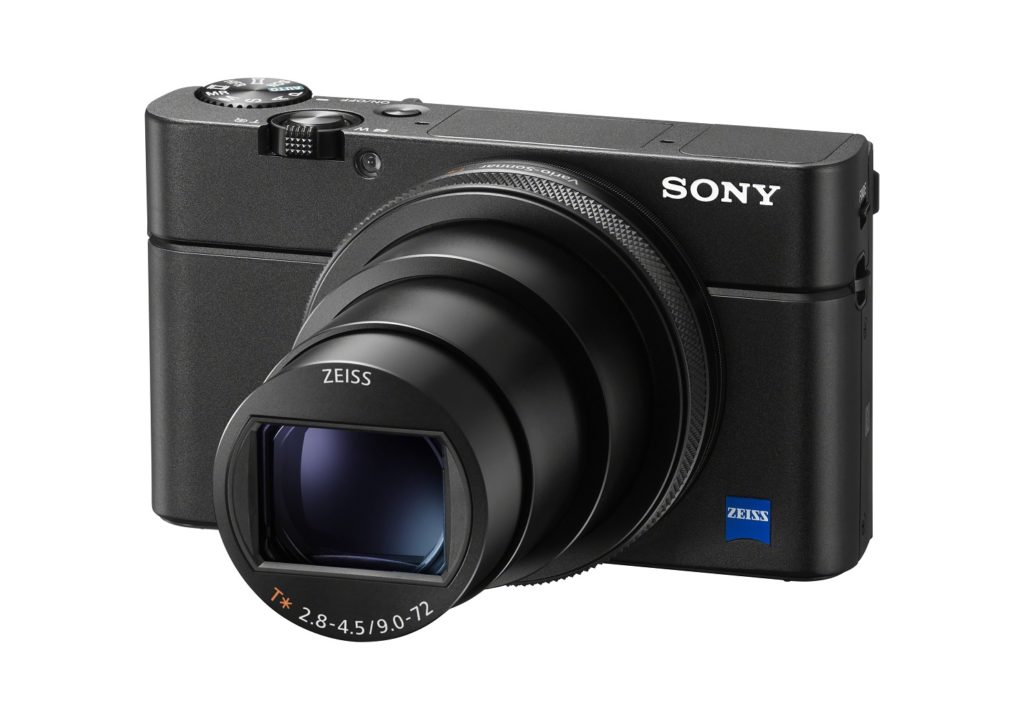 Sony RX 100 Mark 7 front view